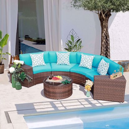 Picture of Pantini Sectional Seating Group with Cushions